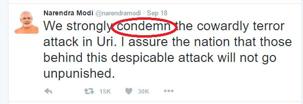 condemn
